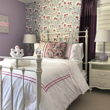Pink and Purple Girl's Dream Bedroom
