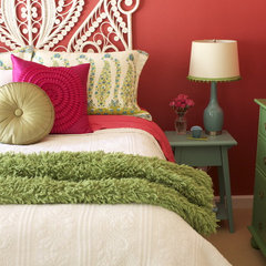 eclectic bedroom by Story & Space - Interior Design and Color Guidance