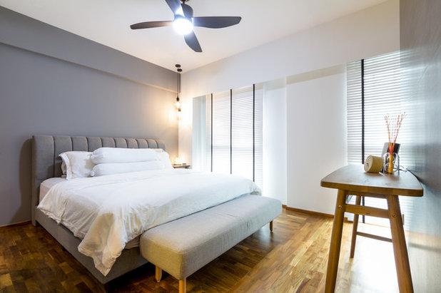 Contemporary Bedroom by Fineline Design Pte Ltd