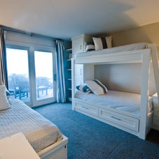 Beach Style Bedroom by Seaside Construction - Design-Build Firm