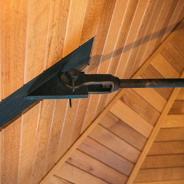 Piseco Lake Camp - Ceiling Detail