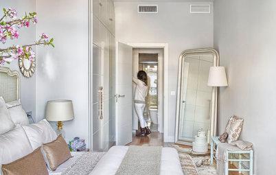 Ideas para montar un vestidor en cualquier clase de dormitorio