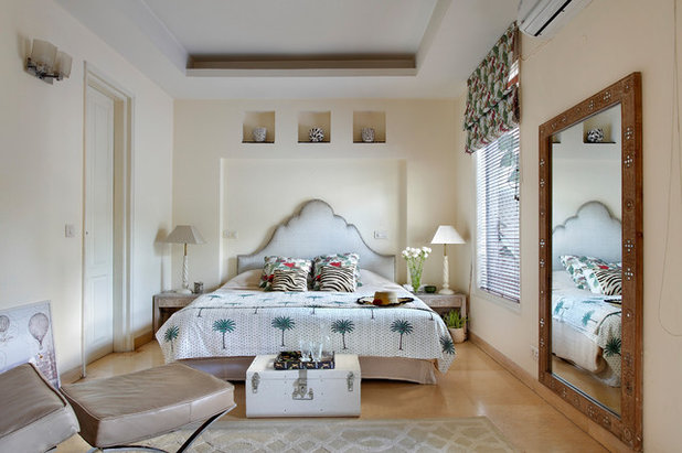 Transitional Bedroom by Mrigank Sharma Photography