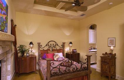 Mediterranean Bedroom by Sterling Custom Homes