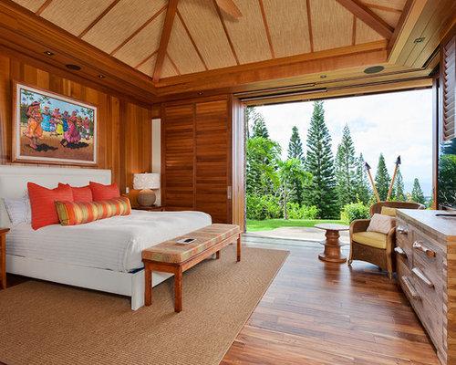 tropical bedroom design ideas, remodels & photos   houzz
