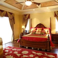 Mediterranean Bedroom by Kimura Interiors