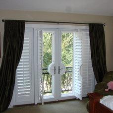 Modern Bedroom by Flatiron Window Fashions