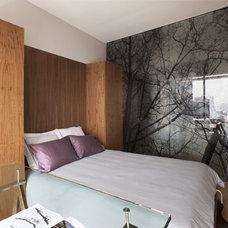 Eclectic Bedroom by vgzarquitectura y diseño sc
