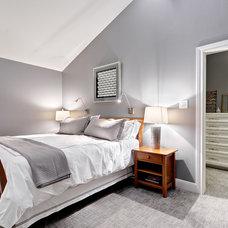Transitional Bedroom by Twelve Stones Designs