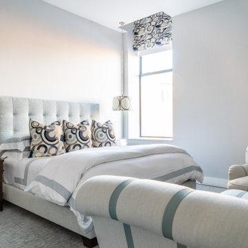 Plush Upholstered Bedroom