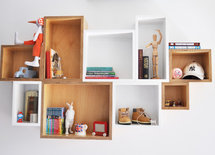Did you buy this shelving unit or was it made?