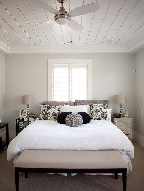 Gray Master Bedroom   Houzz