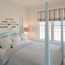 Beach Style Bedroom by J Visser Design