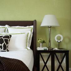 Tropical Bedroom by Slifer Designs