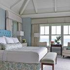 Coastal Luxe Beach Style Bedroom Orange County By