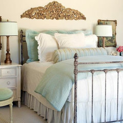 traditional bedroom by Cobblestone & Vine