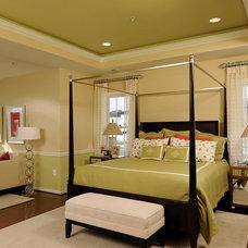 Modern Bedroom by Laura Manning Bendik