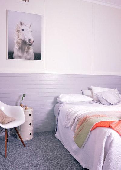 Farmhouse Bedroom by Trentini Design