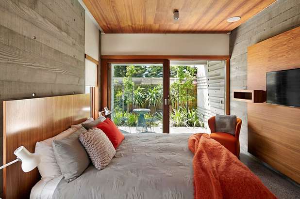 Contemporary Bedroom by Michael Downes - UA Creative