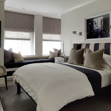 Eclectic Bedroom by Candace Cavanaugh Interiors
