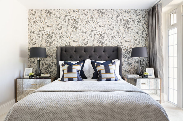 Contemporary Bedroom by Catherine Hastings Interiors
