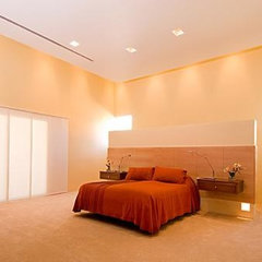 modern bedroom by Chimera Interior Design