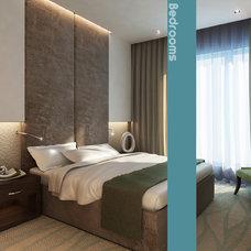 Modern Bedroom by Ibrahim Haddad