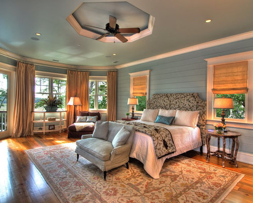 Elegant Bedroom Photo In Charleston With Gray Walls Part 97