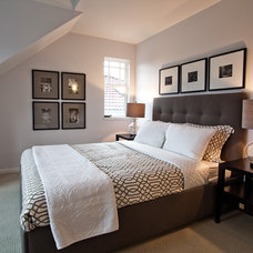 Contemporary Bedroom by John Goldsmith Photography