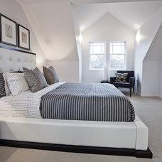 Modern Bedroom by John Goldsmith Photography
