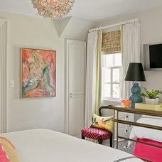 Eclectic Bedroom by Katie Rosenfeld Design