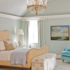 Traditional Bedroom by Katie Rosenfeld Design