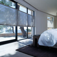 Contemporary Bedroom by Oceanview Shades and Drapery