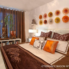 Asian Bedroom by Terrance Mason Interiors