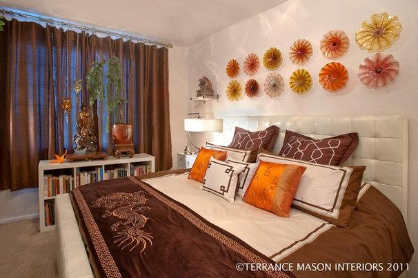 Asian Bedroom by Terrance Mason Interiors