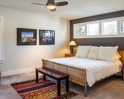 arts and crafts bedroom design ideas renovations photos with grey
