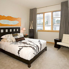 Contemporary Bedroom by Pangaea Interior Design, Portland, OR