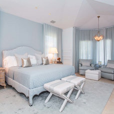 Transitional Bedroom by Fein Zalkin Interiors