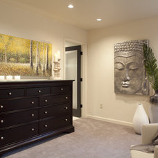 Transitional Bedroom by Lord Design