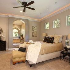 Mediterranean Bedroom by Riverside Builders