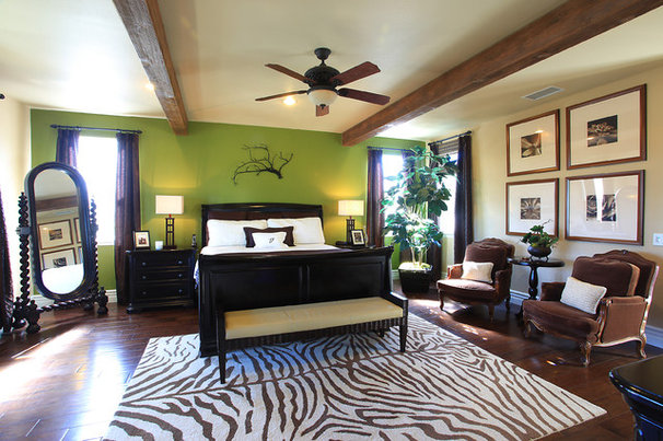Eclectic Bedroom by D & H Interiors