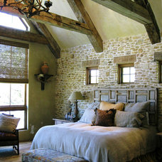 Rustic Bedroom by Richard Drummond Davis Architects