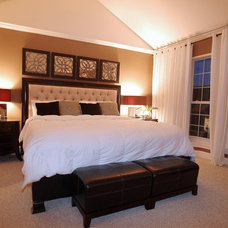 Contemporary Bedroom by Luxe Design Group