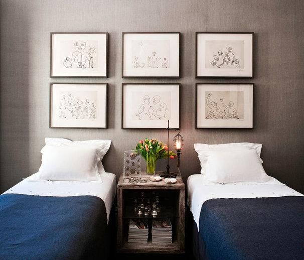 Eclectic Bedroom by Antonio Martins Interior Design