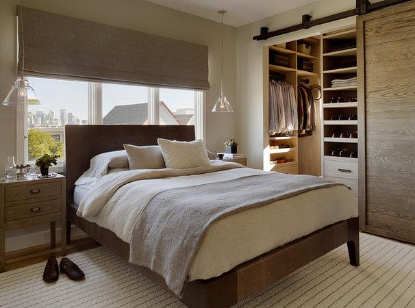Contemporary Bedroom by Jute Interior Design