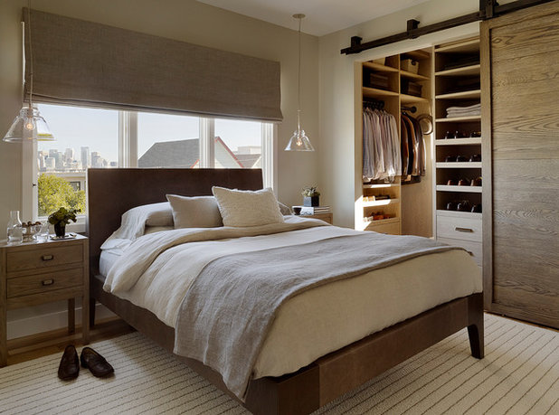 Contemporary Bedroom by Jute Interior Design