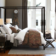 Transitional Bedroom by Pottery Barn