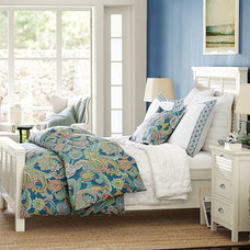 Beach Style Bedroom by Pottery Barn