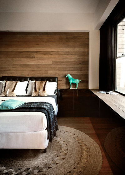 Contemporain Chambre by Darren Palmer Interiors