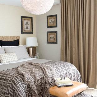 Удачное сочетание для дизайна помещения: спальня в классическом стиле с бежевыми стенами - самое интересное для вас